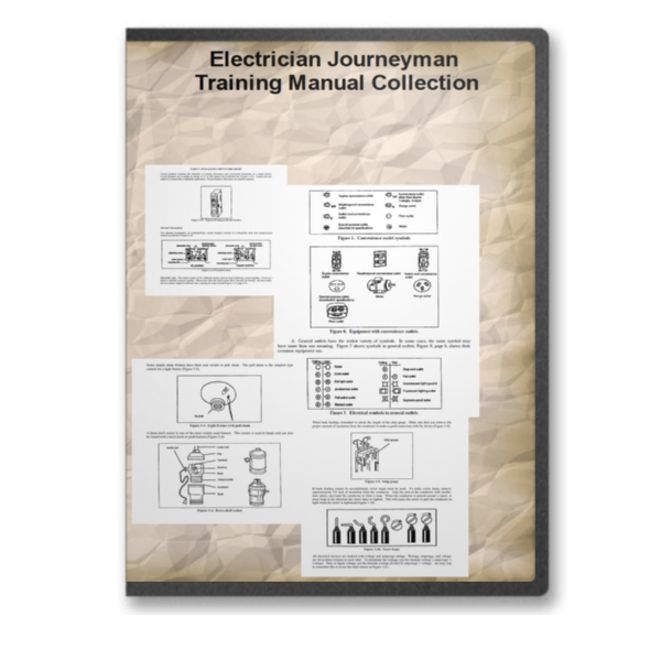 Electrician Journeyman Training How To Manual Collection on CD